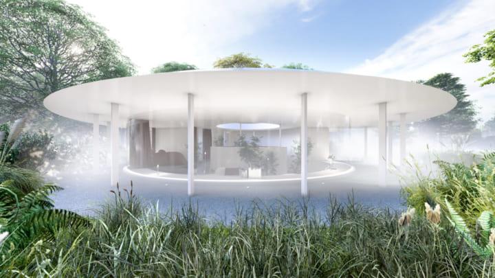 建築とアートと自然が融合するアートヴィラ 「ONEBIENT 神通峡」が富山市にオープン