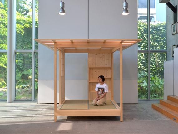 フレキシブル性に優れた 国産木材による組立和室「くみたて2020」