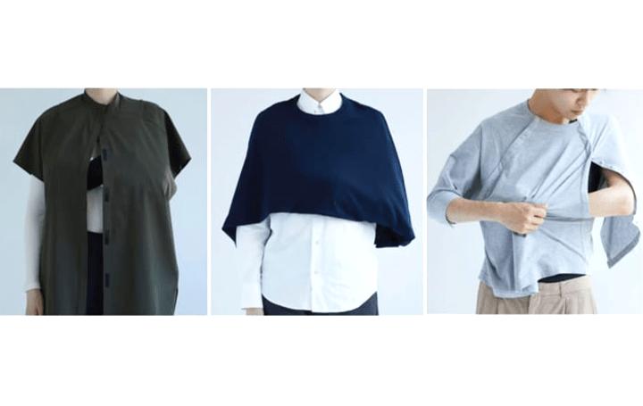 ケア衣料ブランド「carewill」 傷病に合わせた3型のアイテムをローンチ