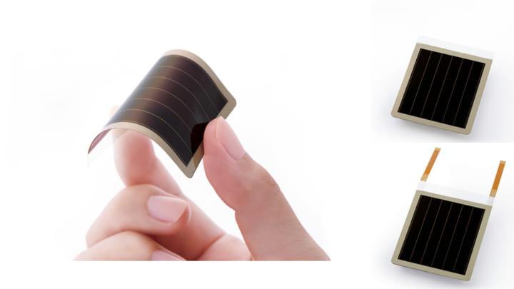 リコー、「充電のない世界」の実現に向けて フレキシブルな環境発電デバイスを開発