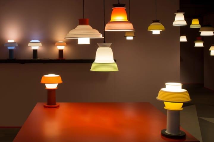 さまざまな組み合わせで 幅広い楽しみ方ができる照明「SHADES」