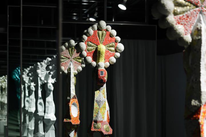 東京工芸大学「ガウディの色と形」展 ガウディが設計で思考した3つの手法に着目