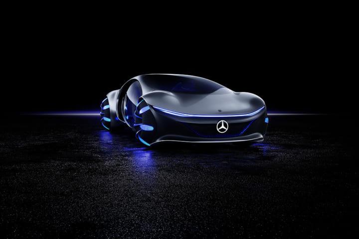 「脳波」を使って自動車を操作する?! メルセデス・ベンツのコンセプトカー「VISION AVTR」