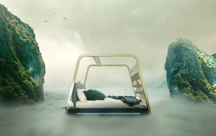 エンタメや安眠を提供する イタリア発のスマートベッドルーム「HiAm」