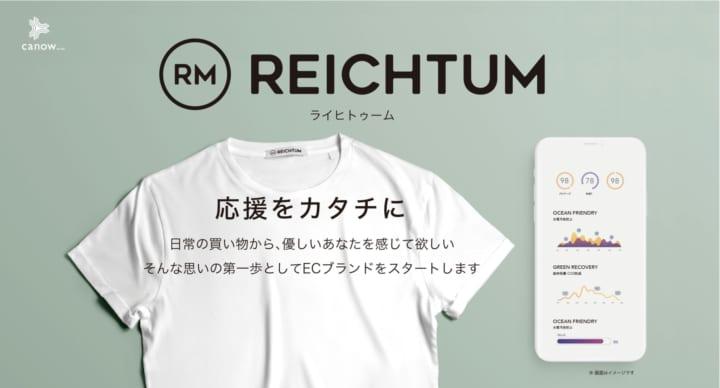 エシカル消費の可視化を目指す ライフスタイルブランド「REICHTUM」