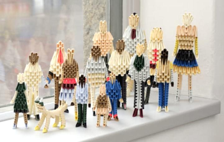 HayにスウェーデンのデザイナーClara von Zweibergkが手がけた クラフト性が高い折り紙コレクション登場