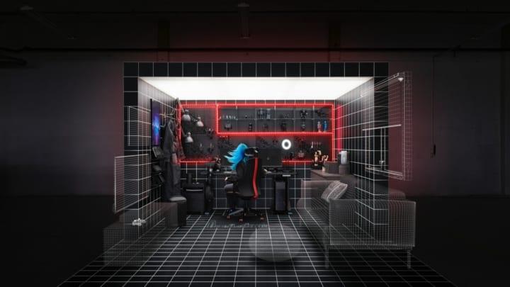 イケア × Republic of Gamers 新しいゲーミング用家具が登場