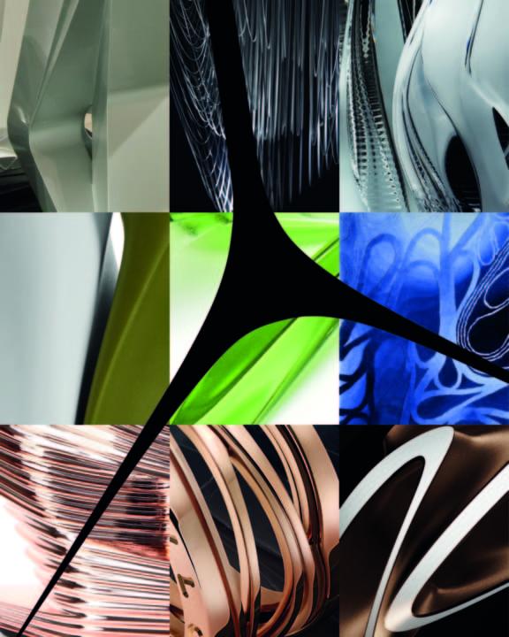 「ZAHA HADID DESIGN 展」展示様子を公開 カリモク家具との新プロジェクトが登場