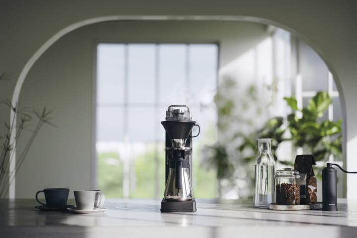 バルミューダのオープンドリップ式 コーヒーメーカー「BALMUDA The Brew」