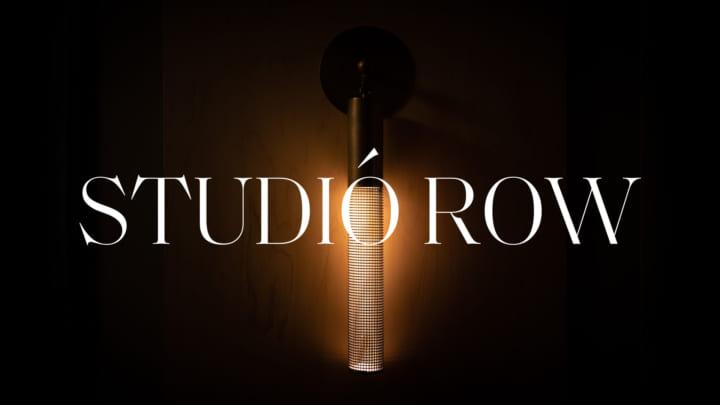 インテリアデザイナー・袴田広基による 照明ブランド「STUDIO ROW」が展示会を開催