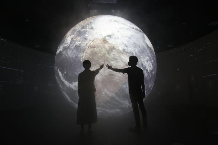 ドバイ万博 日本館が新しい空間体験を提供 日本の出会いの歴史を体感するインスタレーション